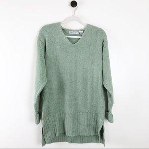 Vintage | Carolyn Taylor V-Neck Tunic Sweater 1X